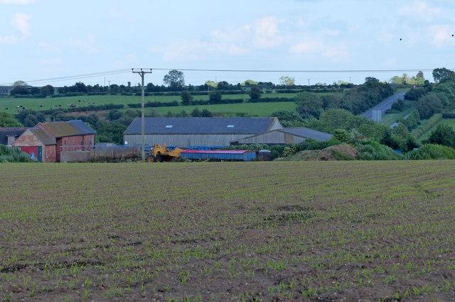 Smockington Farm viewed from Smockington Lane