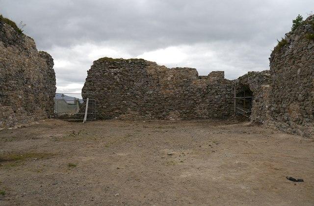 Inside Castle Roy