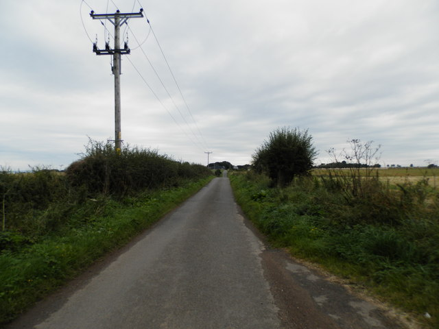 Road to Craigmill from Scryne