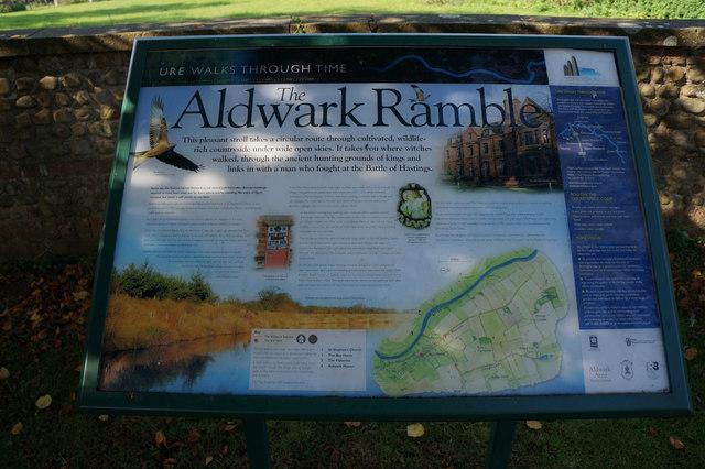 The Aldwark Ramble Notice Board