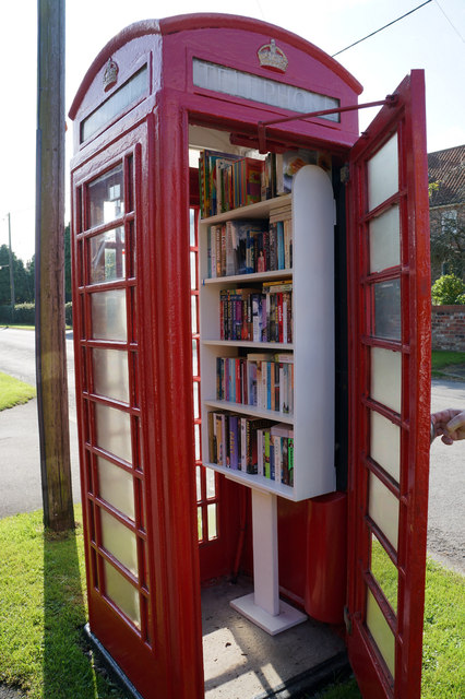 Telephone Box Library, Aldwark