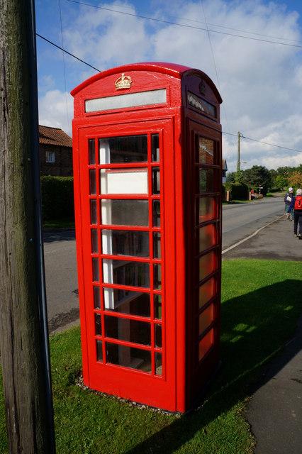 Telephone Box Library, Aldwark