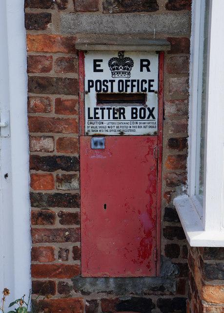 Former post box, Aldwark