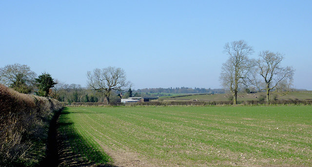 Farmland near Hartlebury, Shropshire