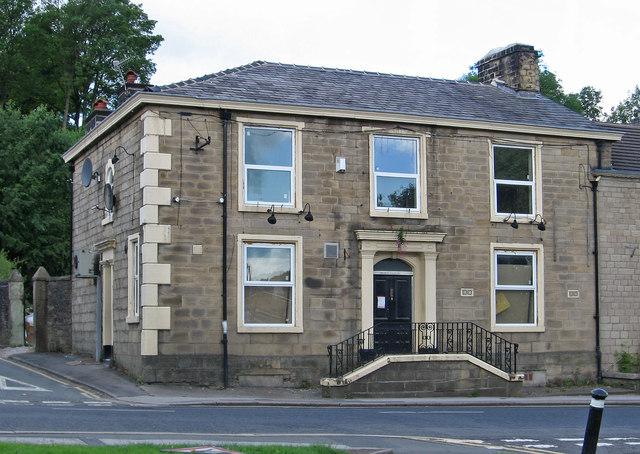 Darwen - Bolton Road house opposite Gregson Street