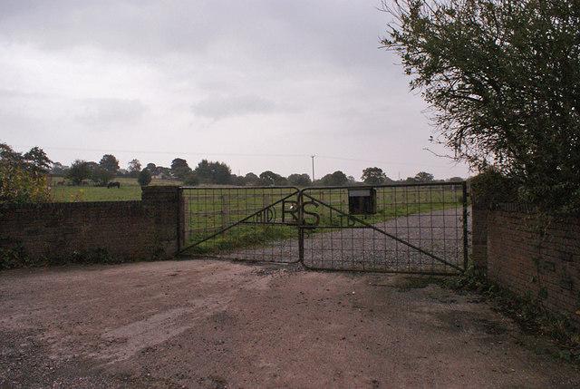 Gate off Salters Lane
