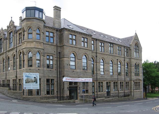 Darwen - former Art School - Union Street frontage