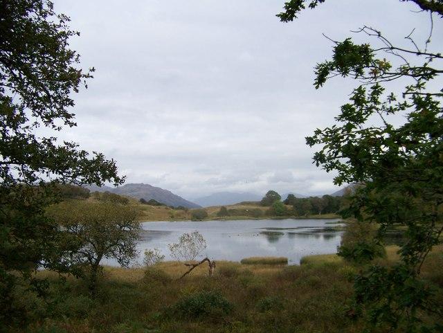 Lochan at Angus' Garden, Barguillean Farm