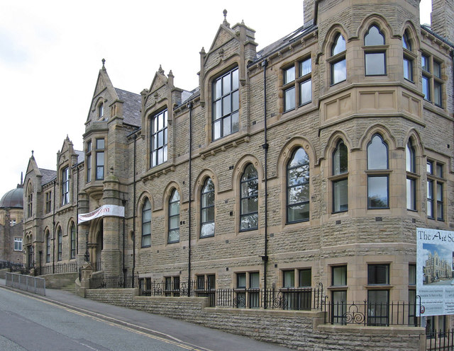 Darwen - former Art School - Knott Street frontage