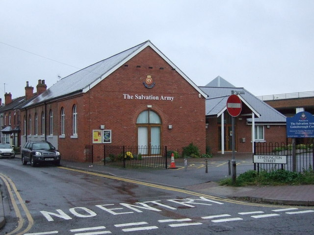Salvation Army Hall. Gainsborough