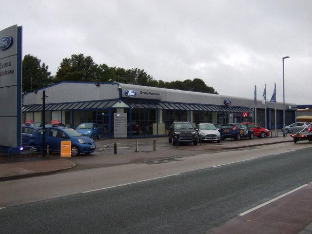 Car Dealership on Lea Road, Gainsborough