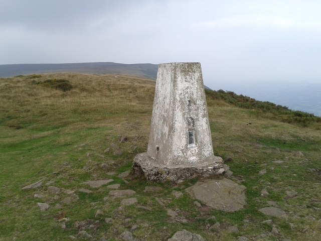 Trig beacon on the Offa's Dyke path