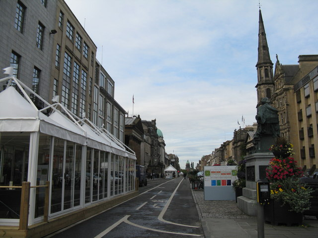 George Street - east end