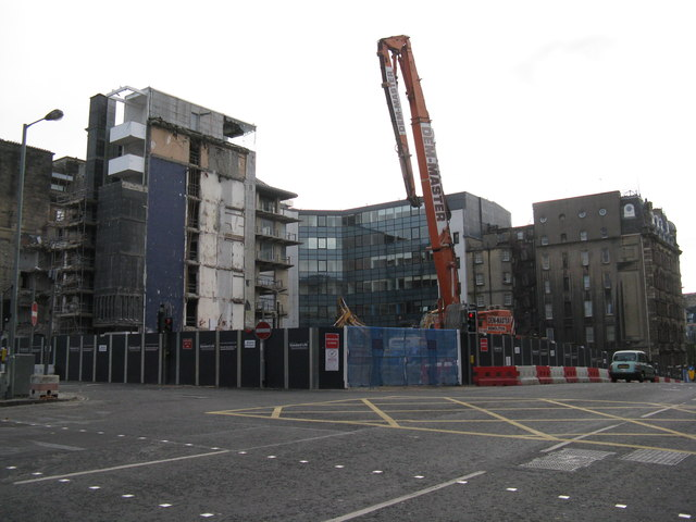Demolition, St Andrew Square