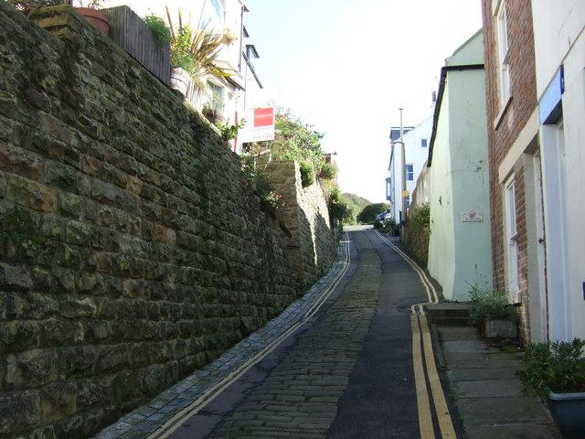 Narrow street, Staithes