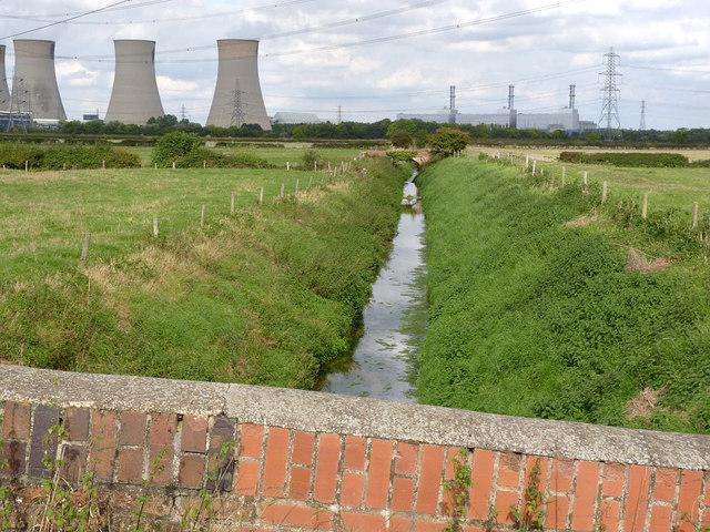 Catchwater Drain near Low Holland Farm