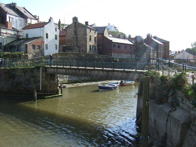 Bridge over Staithes Beck