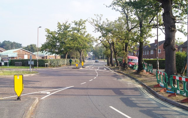 Looking along Chapel Lane