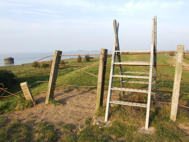 Steps on the Sea Wall