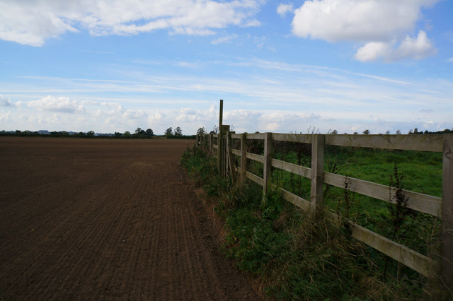Path leading to Moor Lane, Myton-on-Swale