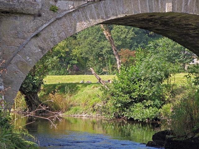 View under Nevern bridge