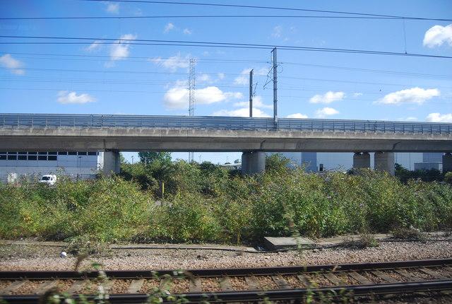 HS1 near Ashford Station