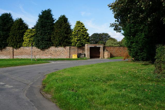 Bus Shelter on Hall Lane, Myton-on-Swale