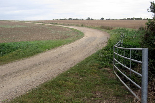 Track to Ritter's Farm