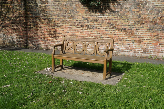 Bench at Myton-on-Swale