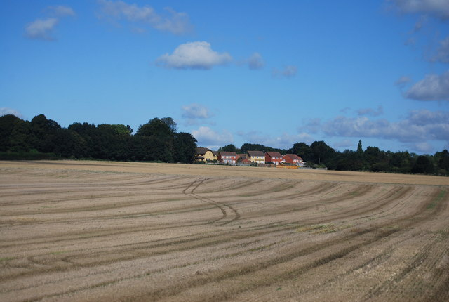 Stubble in the Stour Valley