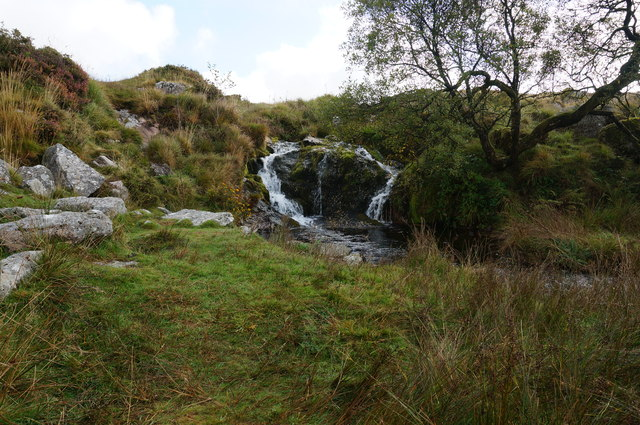Waterfall on the Meavy