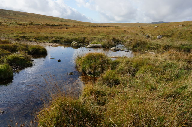 Ford on the Hart Tor Brook