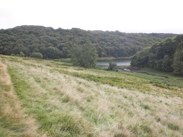 A glimpse of Clatworthy reservoir