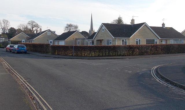 Close Gardens bungalows in Tetbury