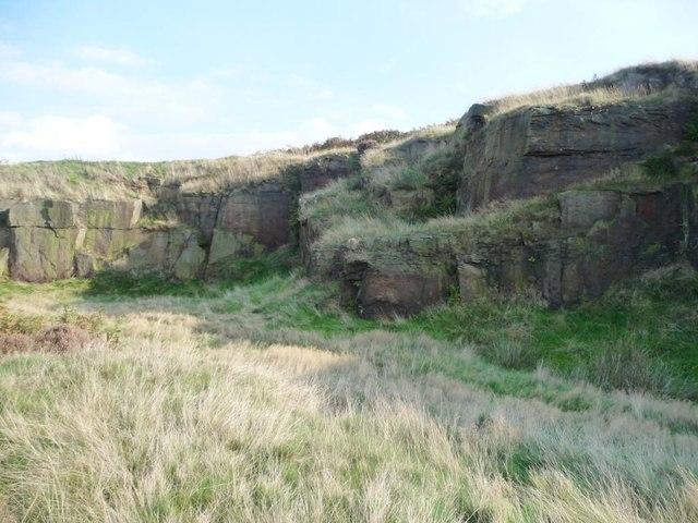 Eaves Crag, Baildon Moor