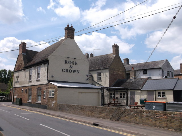 Rose & Crown pub, Somersham, Hunts