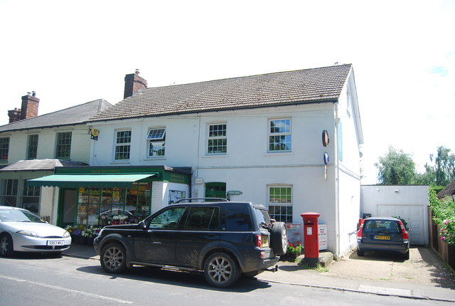 Village store and Post Office, Leigh