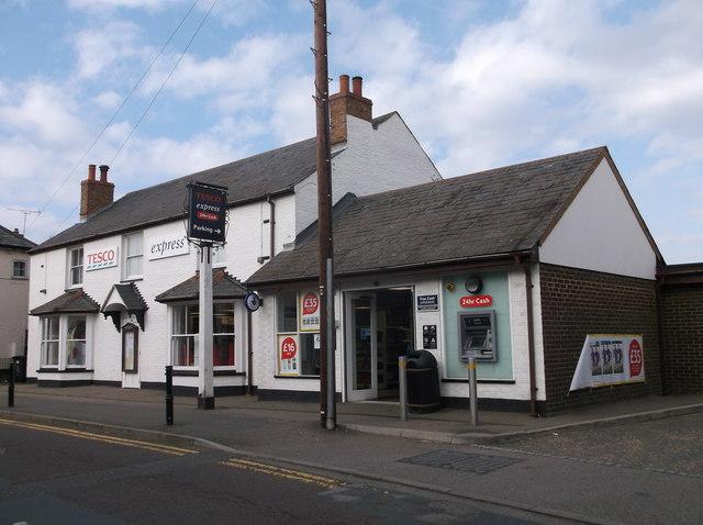 Tesco Express (former pub), Somersham, Hunts