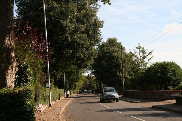 "Holt: Cromer Road, ""Holm Oaks"" and Burrell Close"