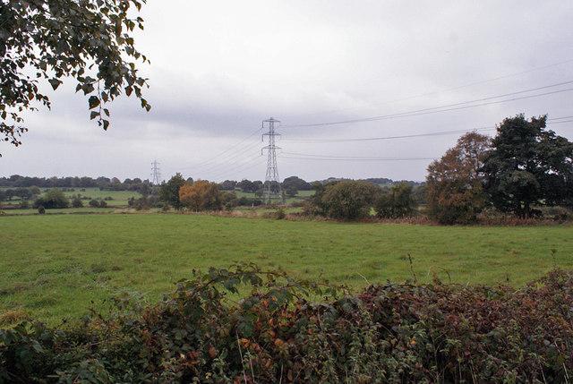 Fields north of Werrington