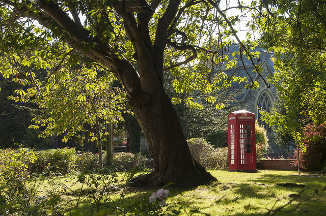 Village 'phone Box - Wenvoe