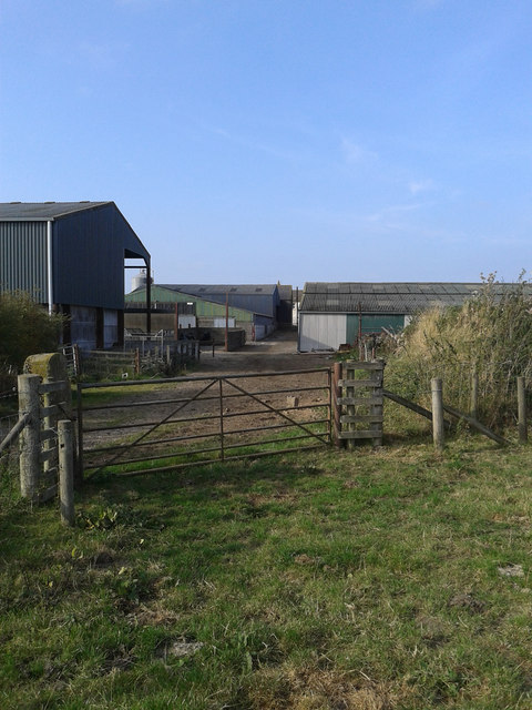 Farmyard and buildings at Moorhouse Hall