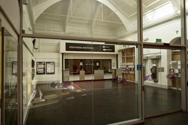 At Altrincham Station 2