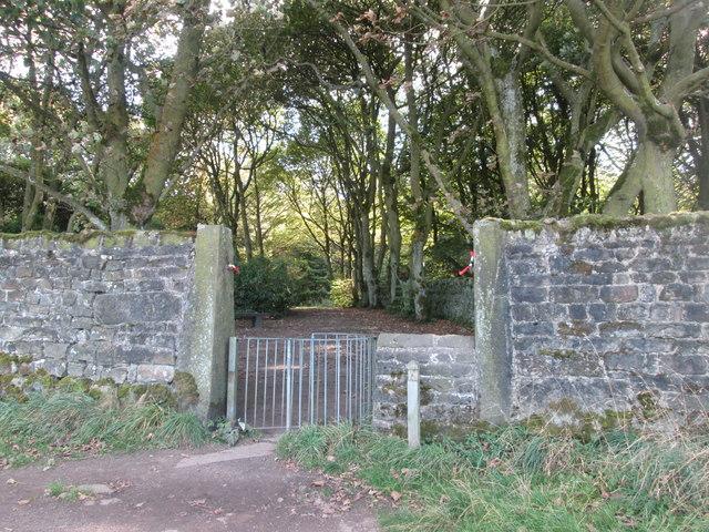Entrance to St Ives Estate from Altar Lane