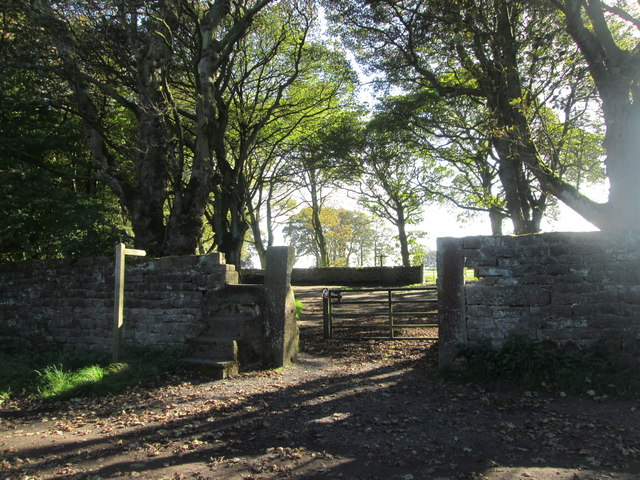 Bridleway to Cross Gates from Altar Lane