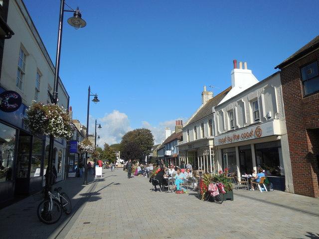 Cafes in East Street, Shoreham