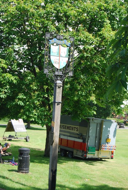 Leigh Village Sign