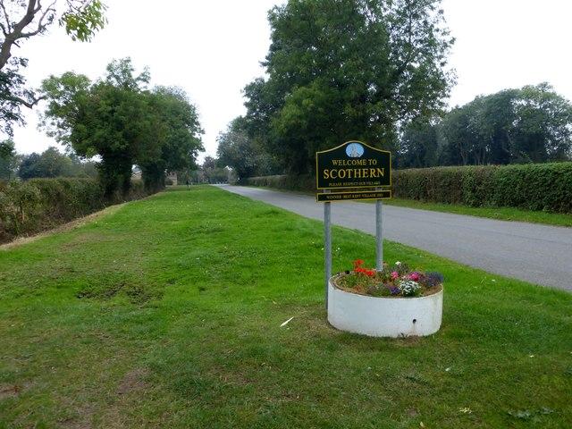 Scothern village sign