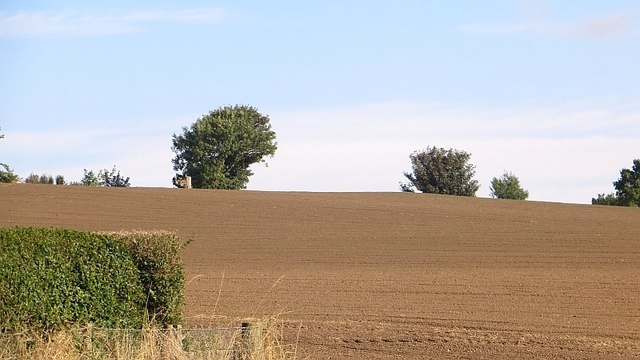 Newly tilled field, Ardownie