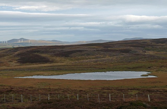Loch a' Ghiubhais, Muie Grazings, Sutherland